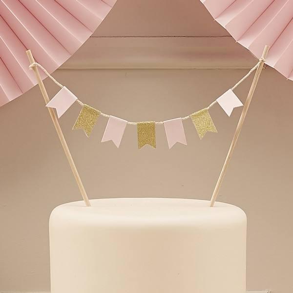Pastel Perfection - Tortengirlande