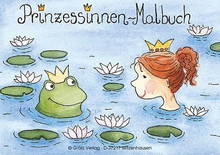 Malbuch Prinzessin