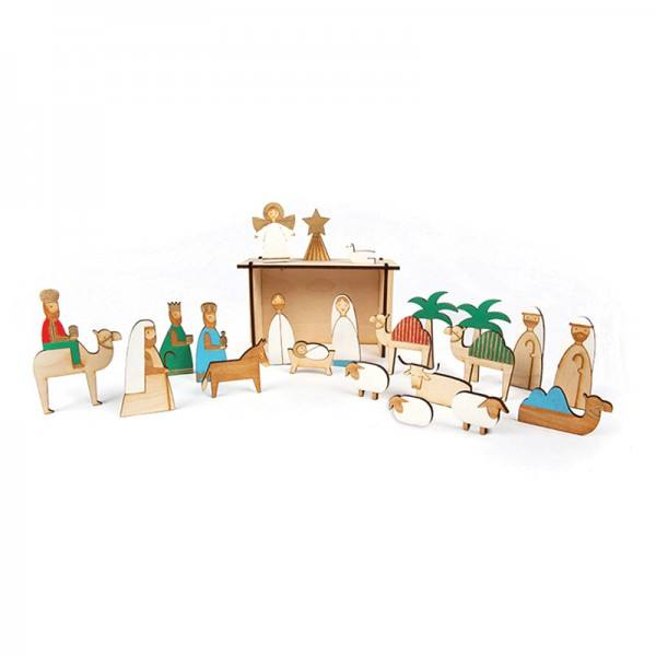 Meri Meri - Adventskalender Krippe Nativity