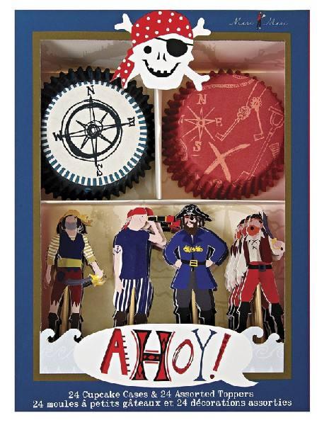 Meri Meri - Cupcake Set Pirat
