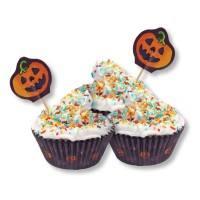 Muffinförmchen Halloween