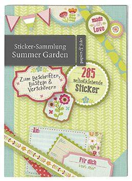 Stickersammlung Summer Garden