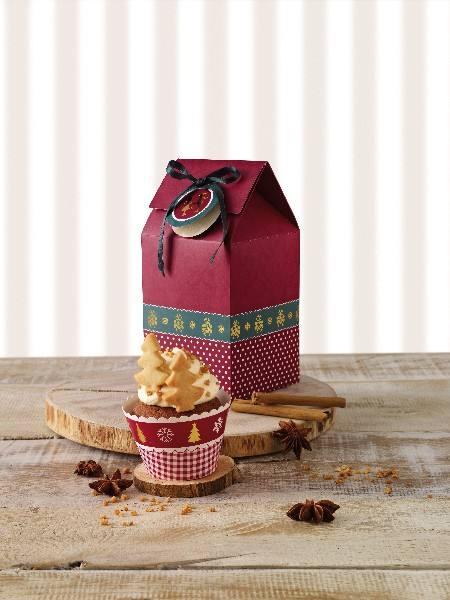 Cupcake Box 2er Set Weihnachten