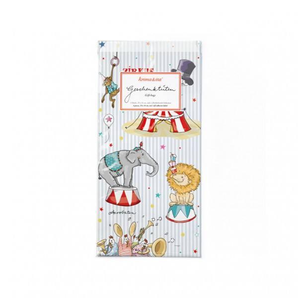 Krima & Isa Geschenktüten Zirkus