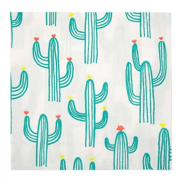 Meri Meri - Servietten Kaktus