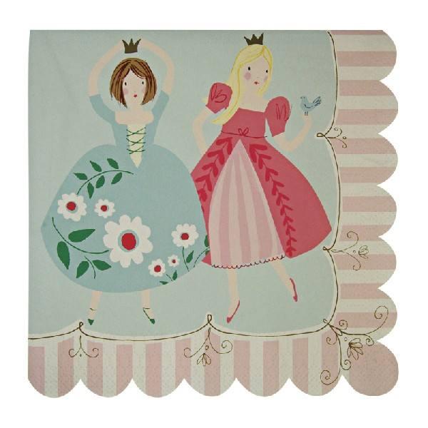 Meri Meri - Servietten groß Prinzessin Princess