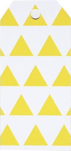 Little Geschenkanhänger gelb Dreieck