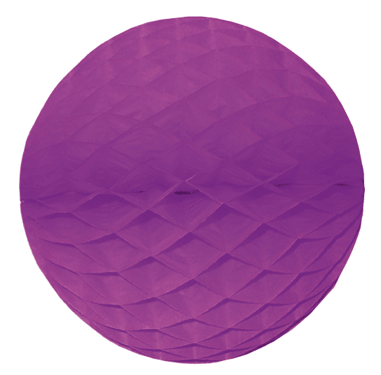 Wabenball lila div. Größen