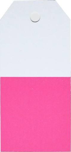 Little Geschenkanhänger weiss/pink