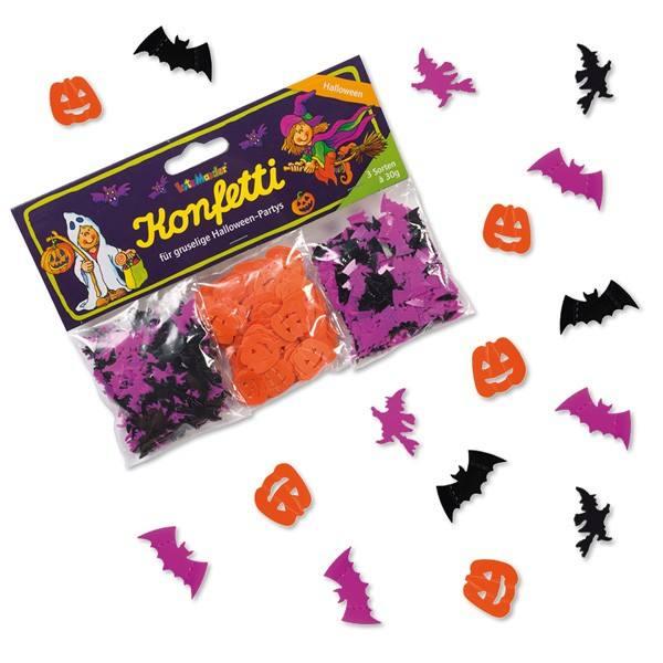 Halloween Konfetti Set