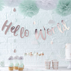 Hello World Babyparty