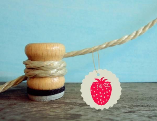Stempel Erdbeere