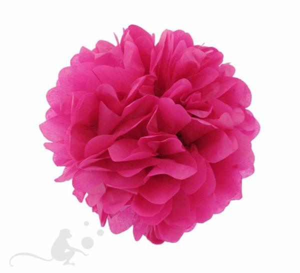 Pom Pom 35 cm rund pink