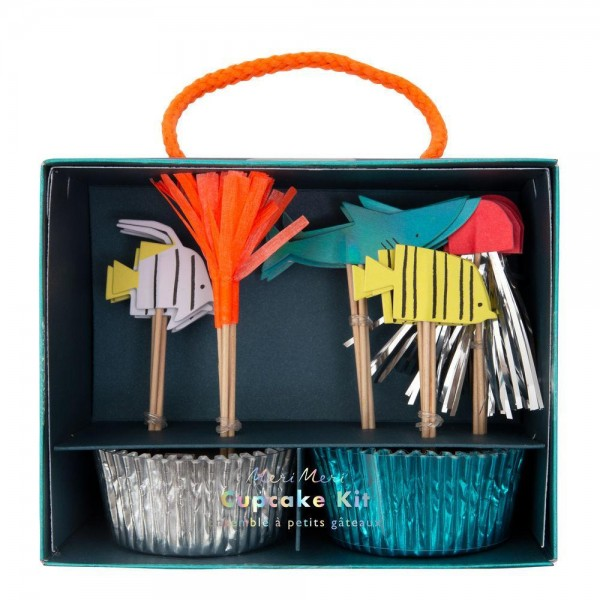 Meri Meri - Cupcake Set Unterwasserwelt