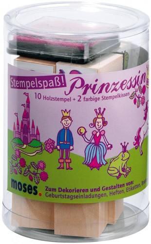 Stempelset Prinzessin