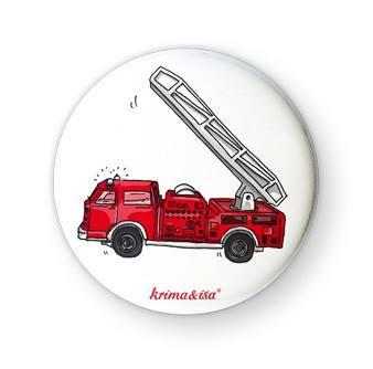 Krima & Isa - Button Feuerwehr
