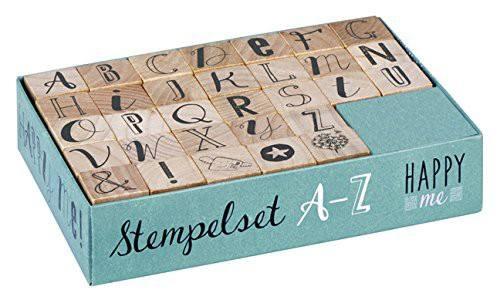 Stempelset Happy Me A - Z
