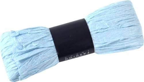 Band Silk Plissee hellblau