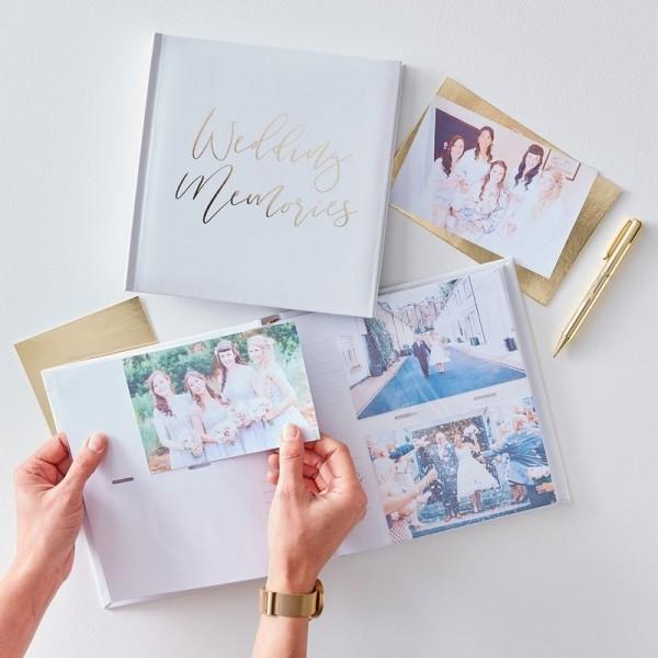 Gold Wedding - Hochzeits Fotoalbum