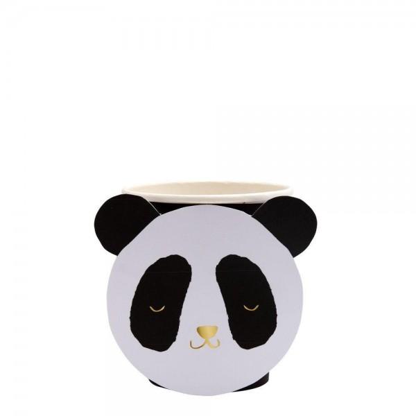 Meri Meri - Pappbecher Panda