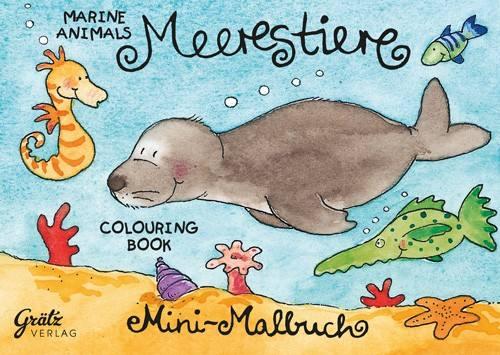 Malbuch Meerestiere