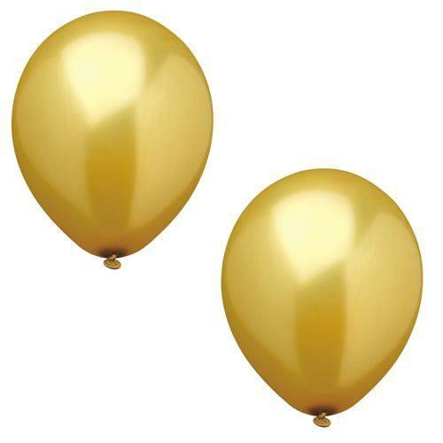 Luftballonset uni gold