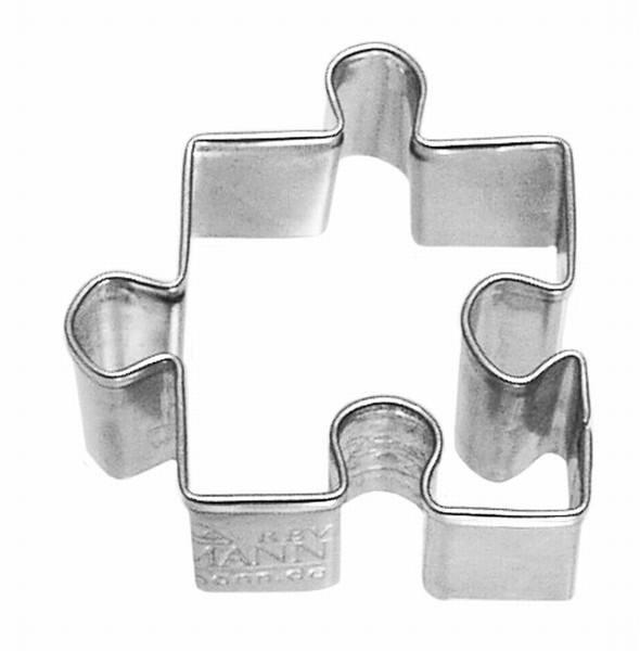 Plätzchenausstecher Puzzle
