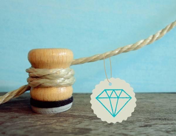 Stempel Diamant