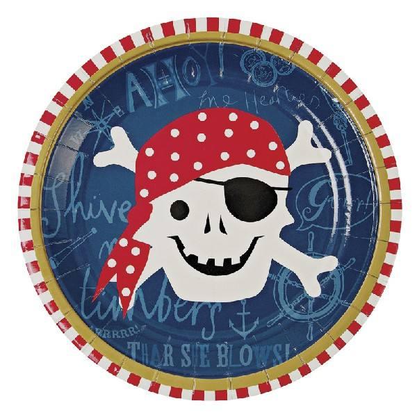 Meri Meri - Pappteller Pirat