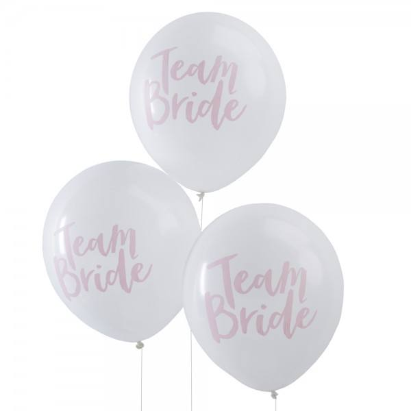 Team Bride Ballons