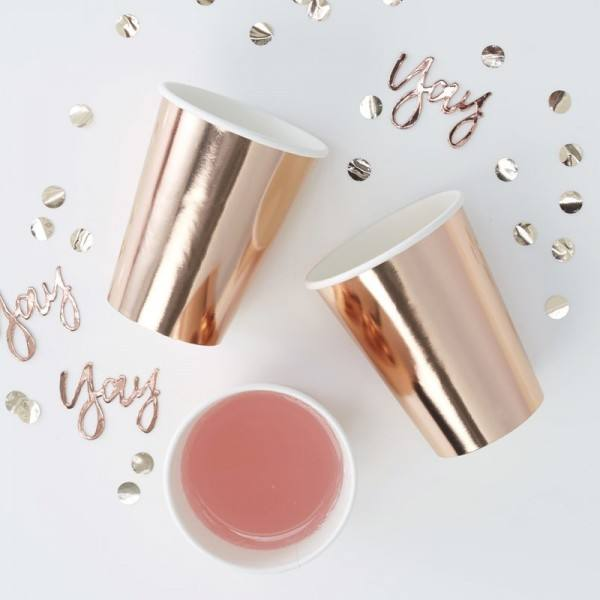 Pick & Mix Becher rosegold