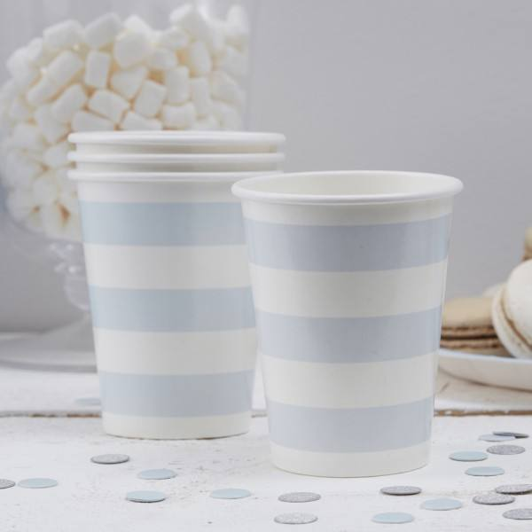 Pastel Perfection - Becher Party hellblau